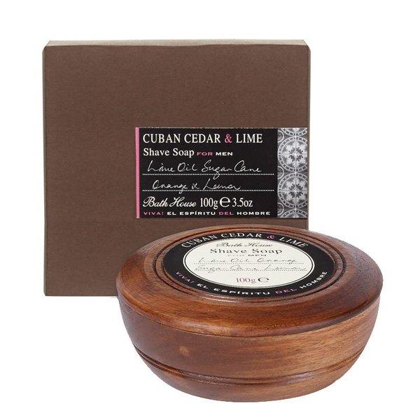 Scheerzeep Cuban Cedar & Lime Wooden Bowl