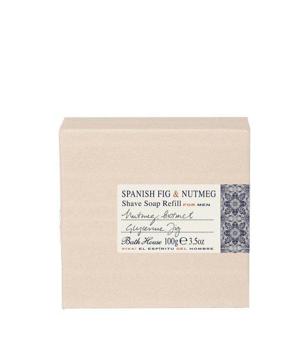 BATH HOUSE Scheerzeep Spanish Fig & Nutmeg Refill