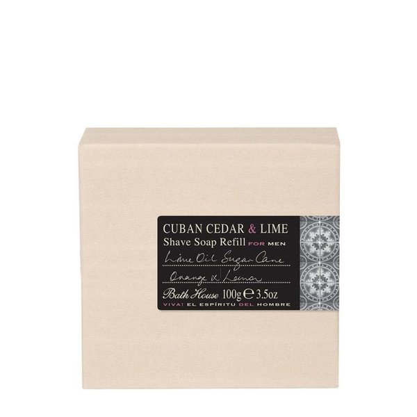 Scheerzeep Cuban Cedar & Lime Refill