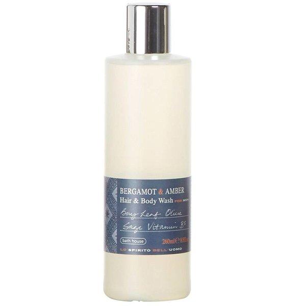 Hair & Bodywash Bergamot & Amber