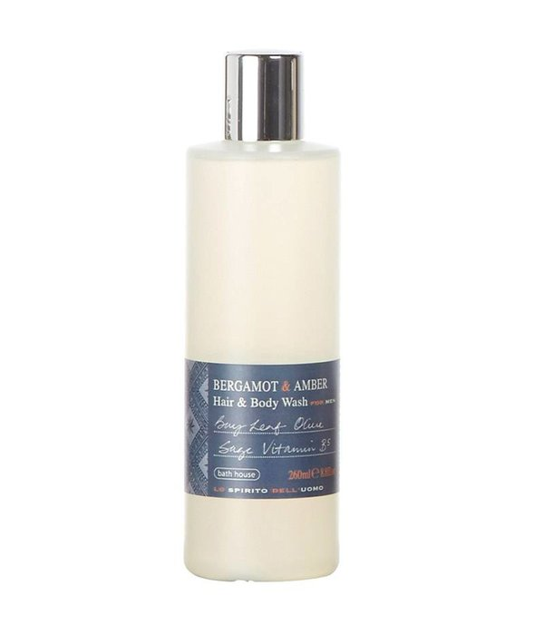 BATH HOUSE Hair & Bodywash Bergamot & Amber