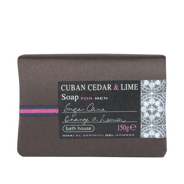 Zeep Cuban Cedar & Lime