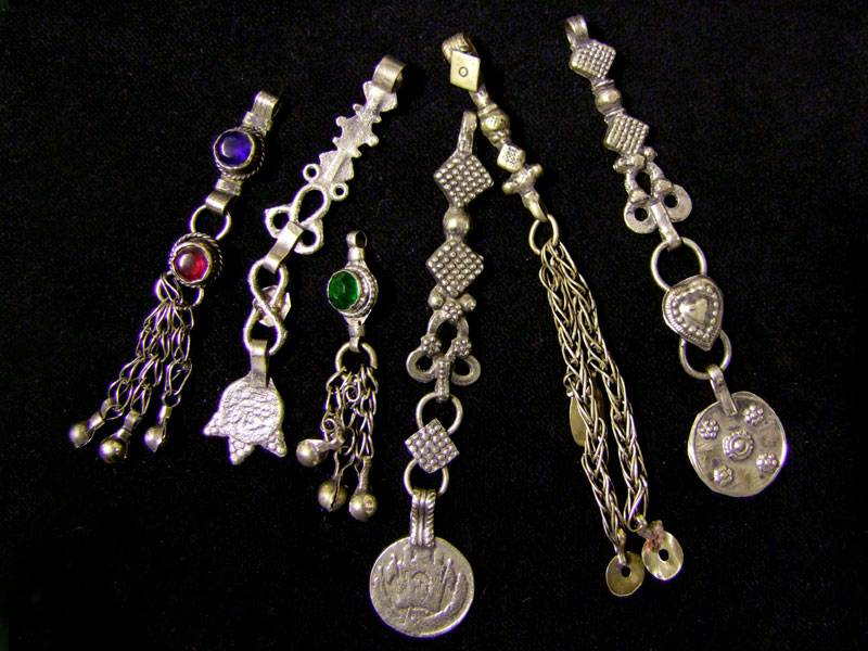 Small Tribal pendants
