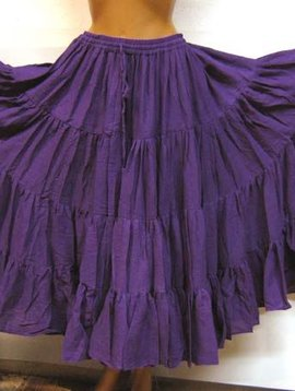 Tribalskirt 24 yards purple