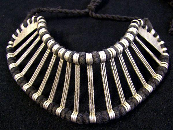 Tribal Silver Choker