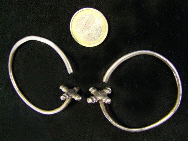 Tribal Silber Ohrringe