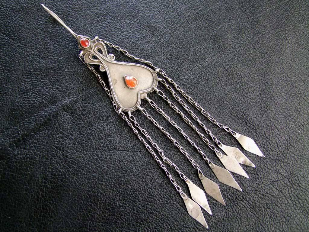 Tribal Silber Anhänger