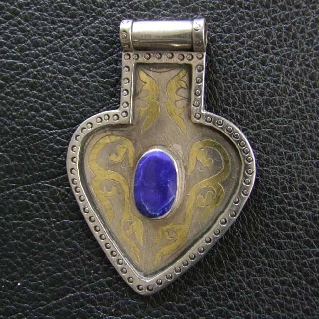 Silber Turkmenen Herz