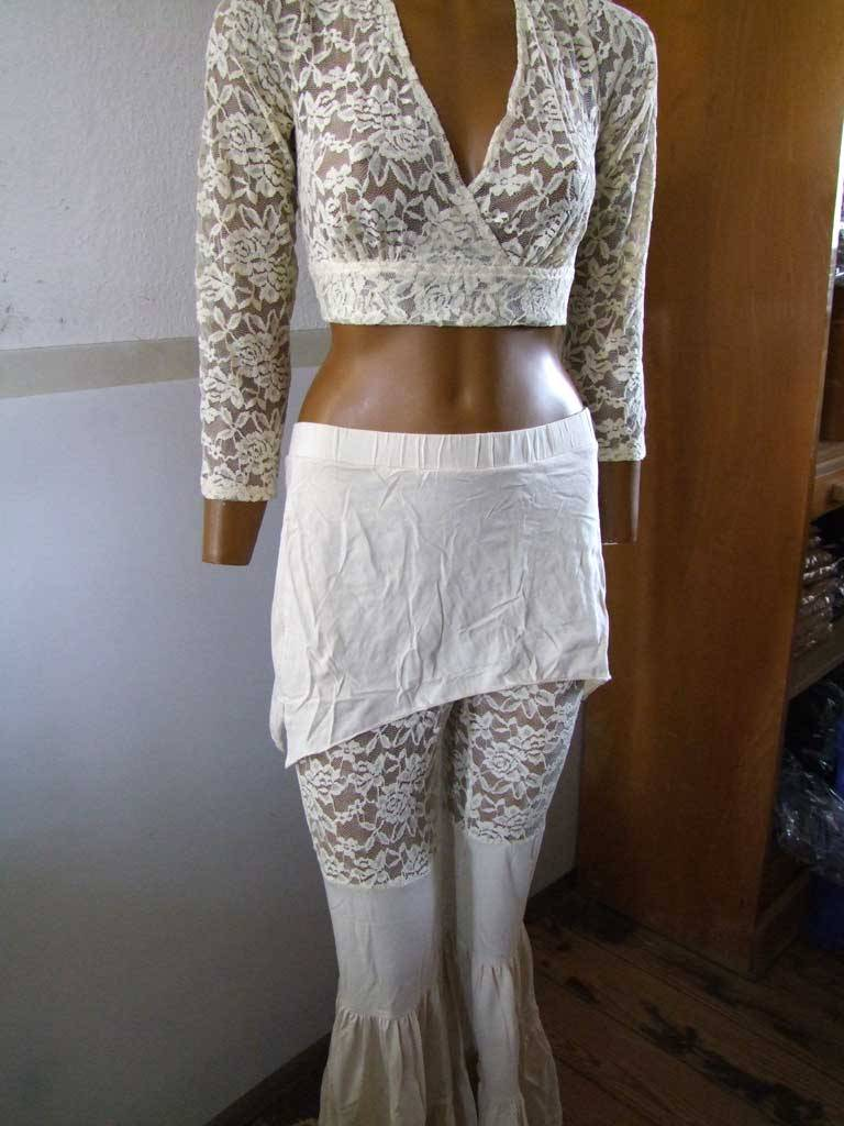 Tribal Fusion Pants ivory