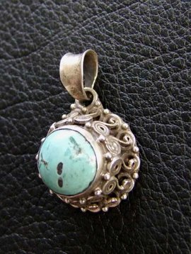 Old Silver Pendant