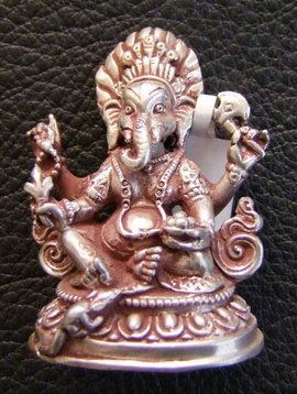 Small silver Ganesh