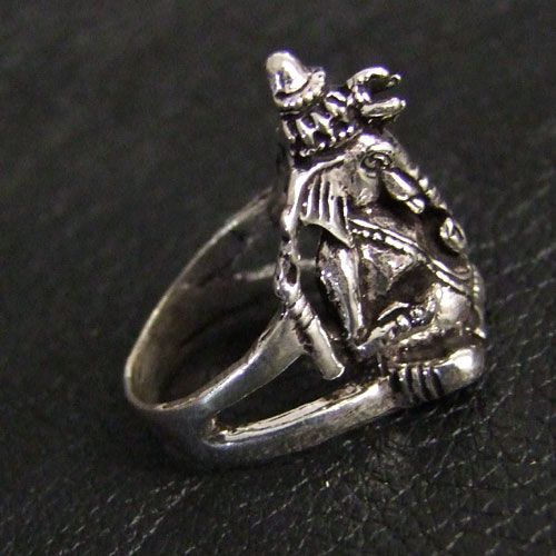 Silver Ring Ganesh