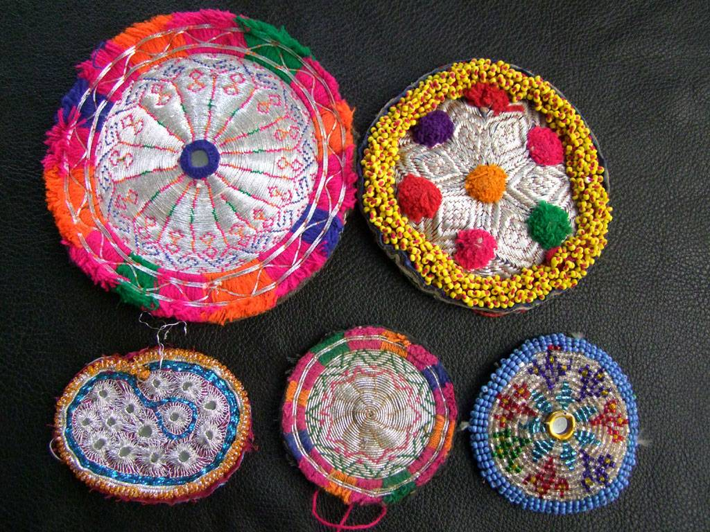 Tribal Beadwork, 5 pcs