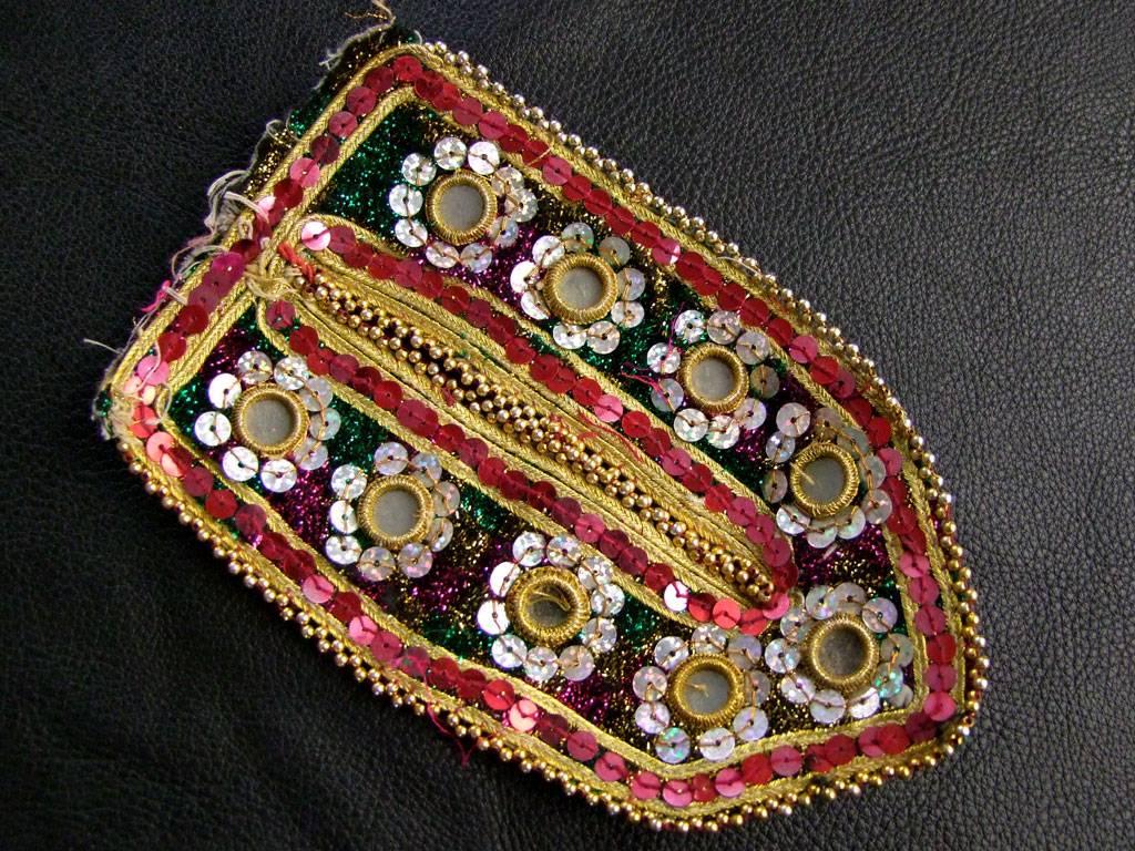 Kuchi Mirror patch/ embroidery