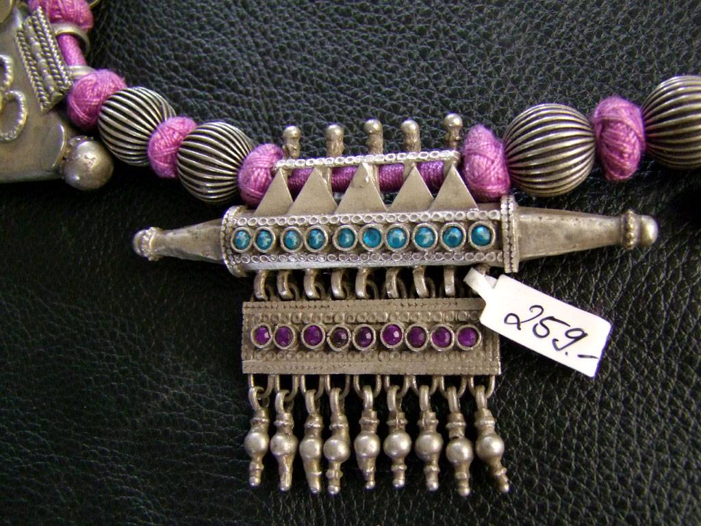 Silver necklace from India