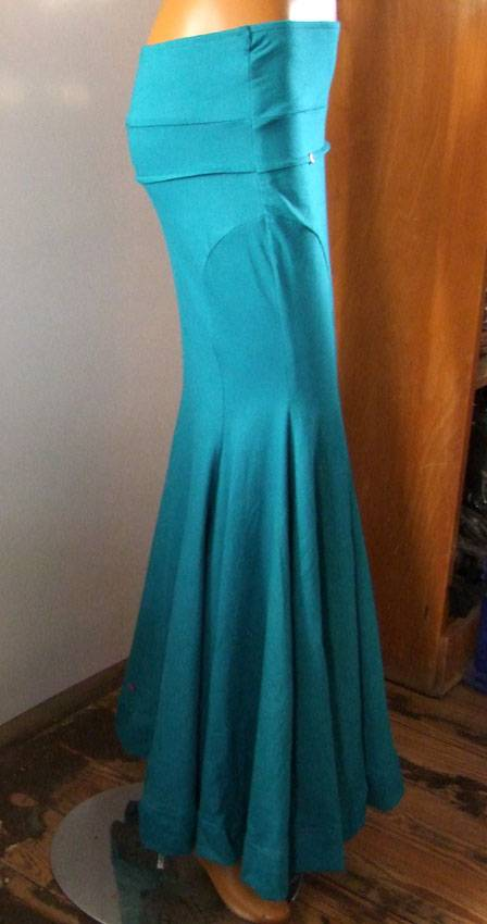 Silhouette Skirt teal/ turquoise