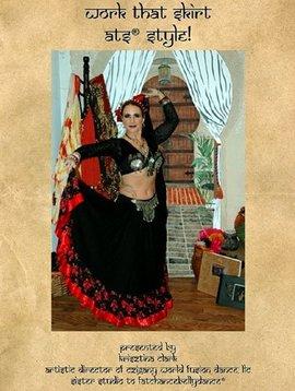 Work That Skirt ATS Style, Instructional 2 DVD Set