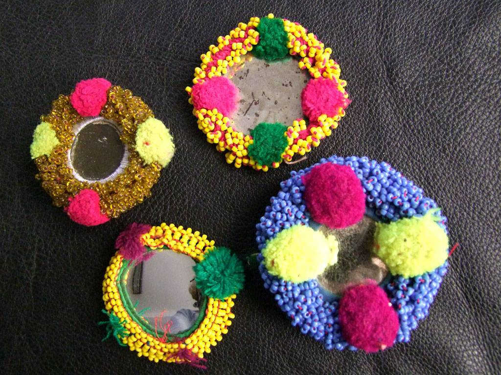 Tribal Beadwork, 4 pcs