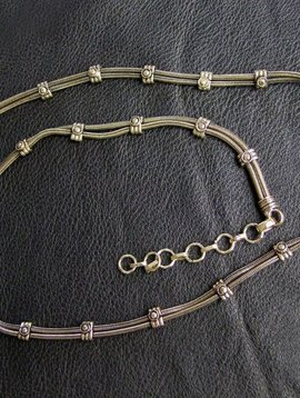 Brass Belly chain with hook