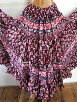 Tribal Skirt Blockprint style