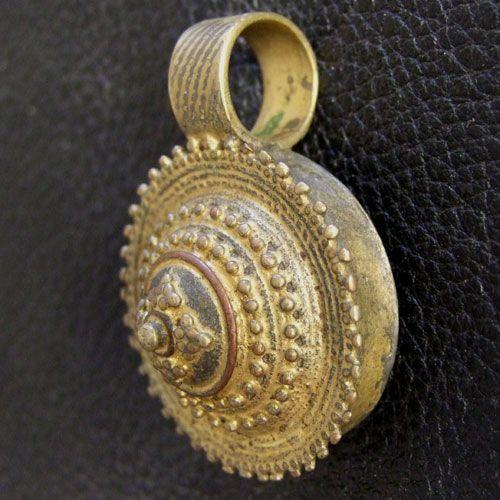 Brass pendant, Ethiopia