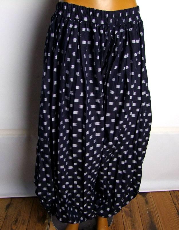Pantaloon/ harem pants Ikat fabric