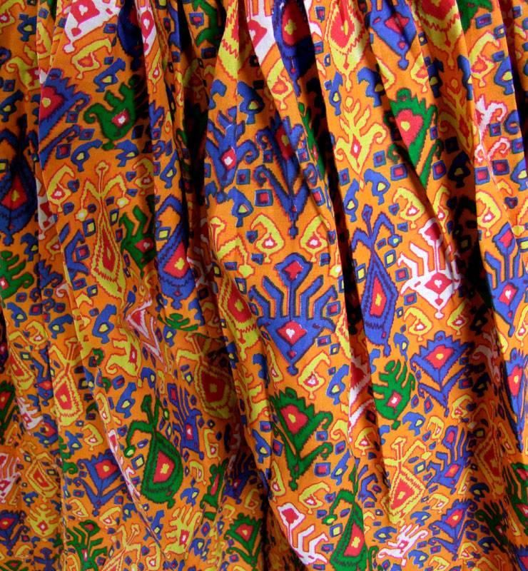 Pantaloon/ Pumphose Ikat print