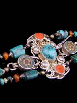 Armband mit Türkis