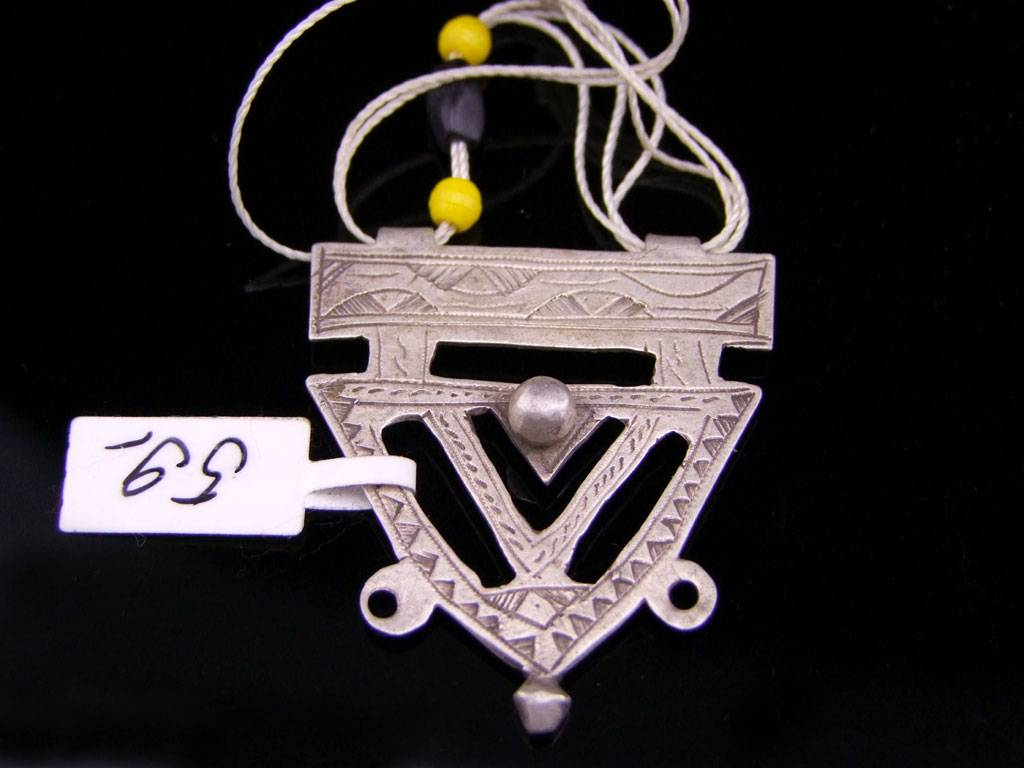 Tuareg Amulet, silver