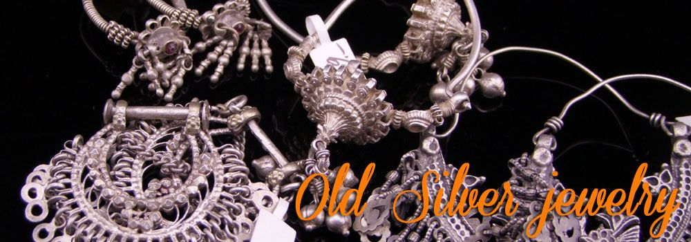 Old silver jewelry
