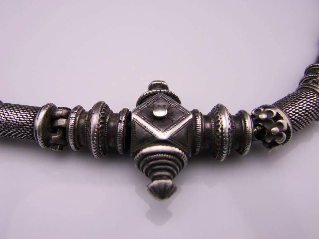 Silver bellychain