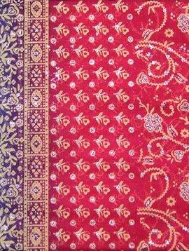Jodha mharani Sari pink/ hellblau