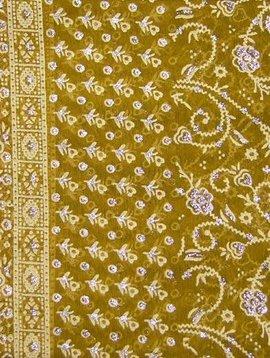 Jodha mharani Saree mustard/ red