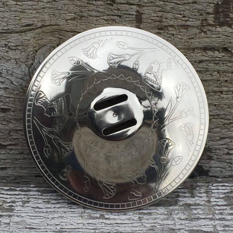 Saroyan Nefertiti silver