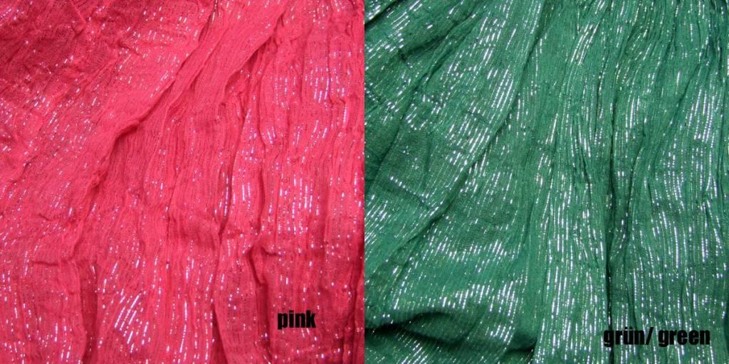 Lurex Pantaloon/ harem pants, 14 colors