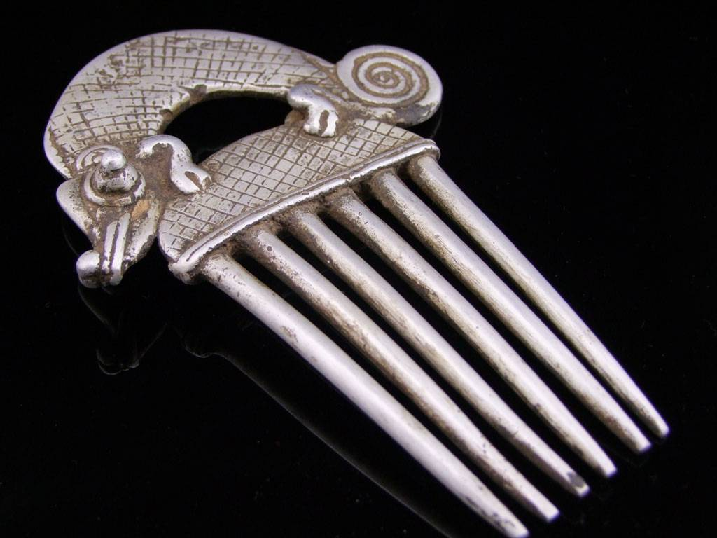 Tuareg Haircomb/ Hairjewellery