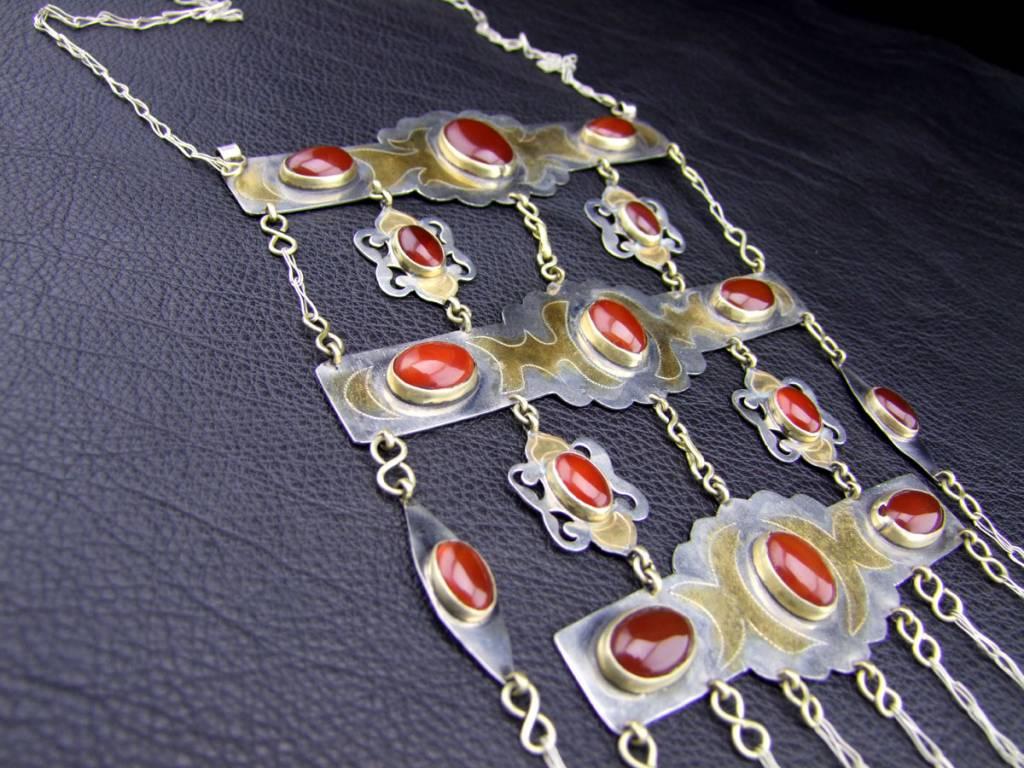 Turkmen Tribal Necklace
