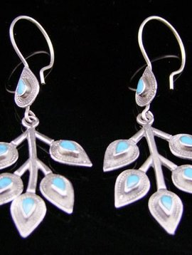 Silber Ohrringe Ethno style