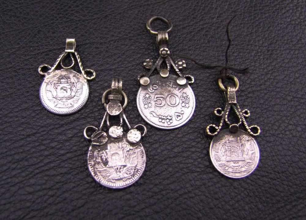 Tribal Coin pendants