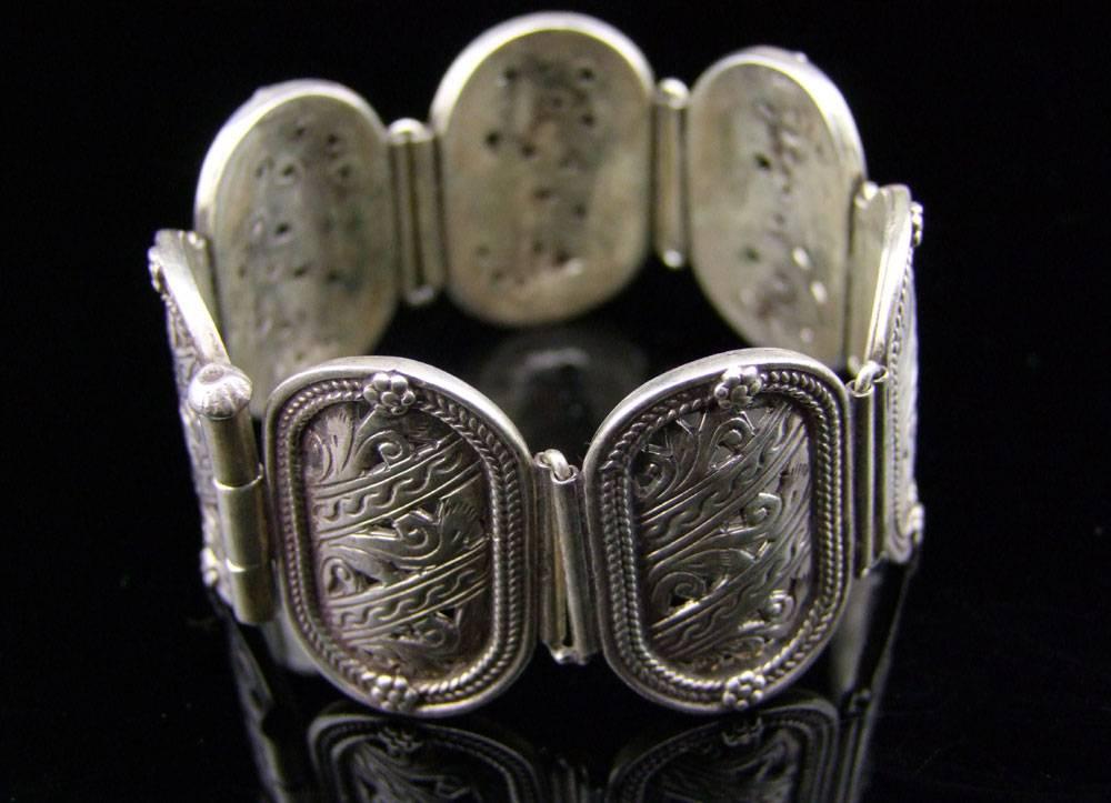 Altes Silber Armband