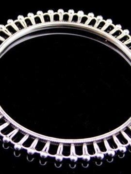 Silver bracelet/ bangle