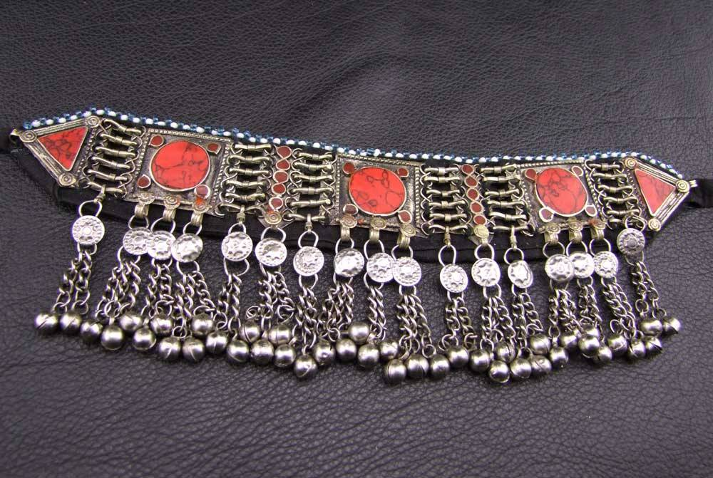 Tribal Choker red