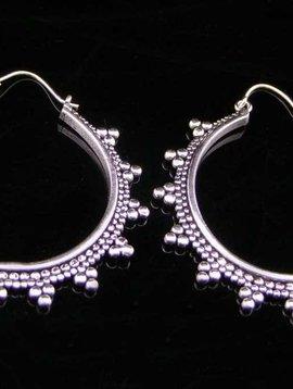German Silver Earrings