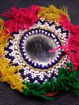 Perlen Medaillon