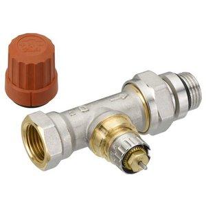 """Danfoss RA-N therm. radiatorkraan 1/2"""" recht met o-ring"""