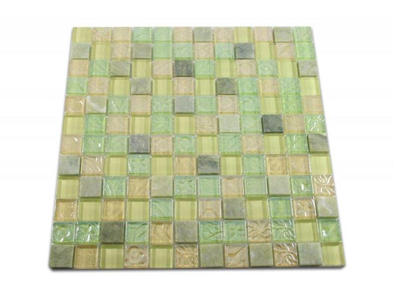 Mosaikfliesen grün  Bunte Mosaikfliesen Wohnen im Urlaubsambiente - Mosaic Outlet
