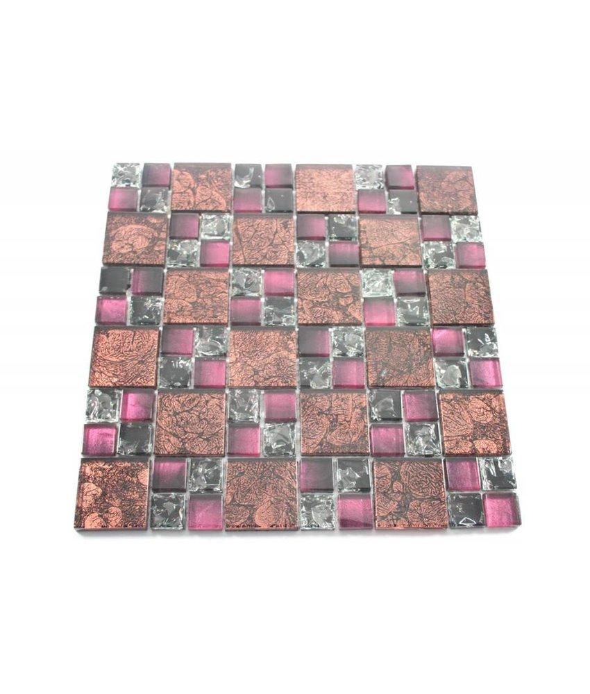 Mosaikfliesen fachhandel fliesen f r ihr badezimmer mehr mosaic outlet - Fliesen weinrot ...