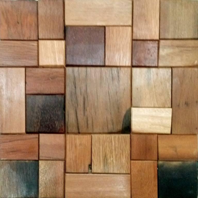 holz mosaikfliesen kiew antik holz braun mix mosaic outlet. Black Bedroom Furniture Sets. Home Design Ideas
