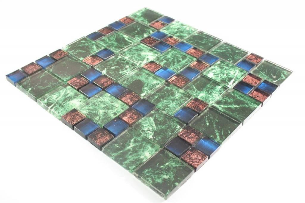glasmosaik fliesen marmara gr n braun blau mosaic outlet. Black Bedroom Furniture Sets. Home Design Ideas
