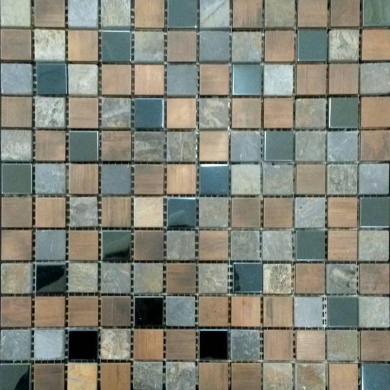 Bunte Mosaikfliesen Küche mit modern Fliesen neu gestalten - Mosaic ...